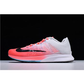 Women's Nike Air Zoom Elite 9 Hot Punch/Black-White-Lava Glow 863770-600